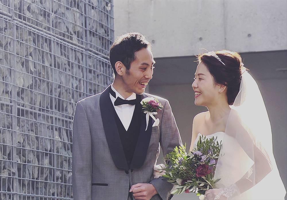 結婚式と披露宴当日のシネマティックビデオ撮影